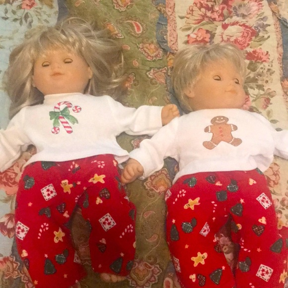 American girl bitty baby twins